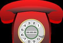 Dia do telefone, comunicação, transmissão