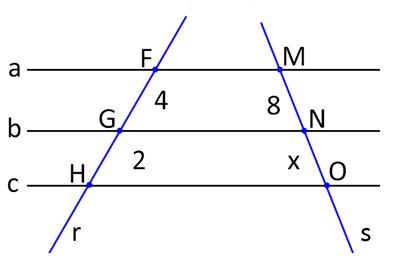 Teorema de Tales matemática