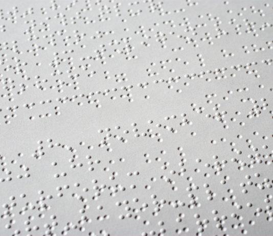 Código Braille, leitura, escrita