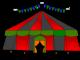 Dia do circo. circense, arte