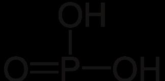 Hidratação dos ácidos, fosfórico, elemento